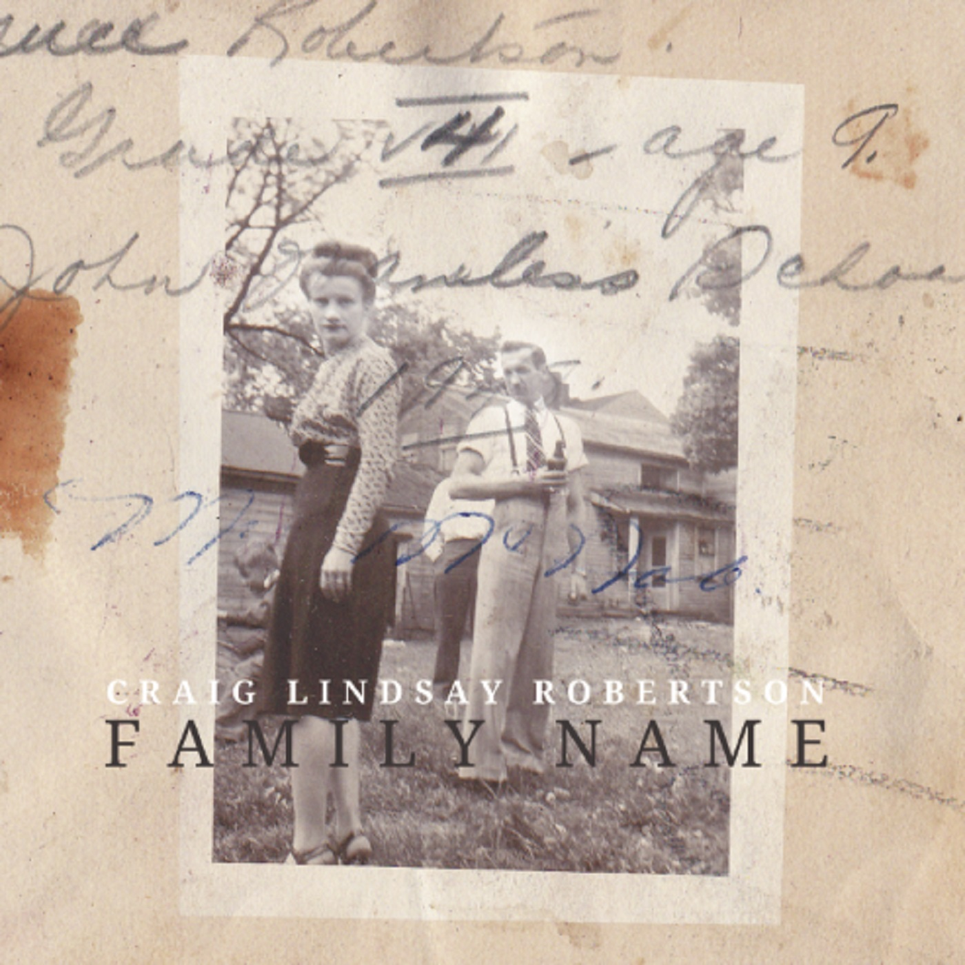 Craig Lindsay Robertson - Family Name - COVER