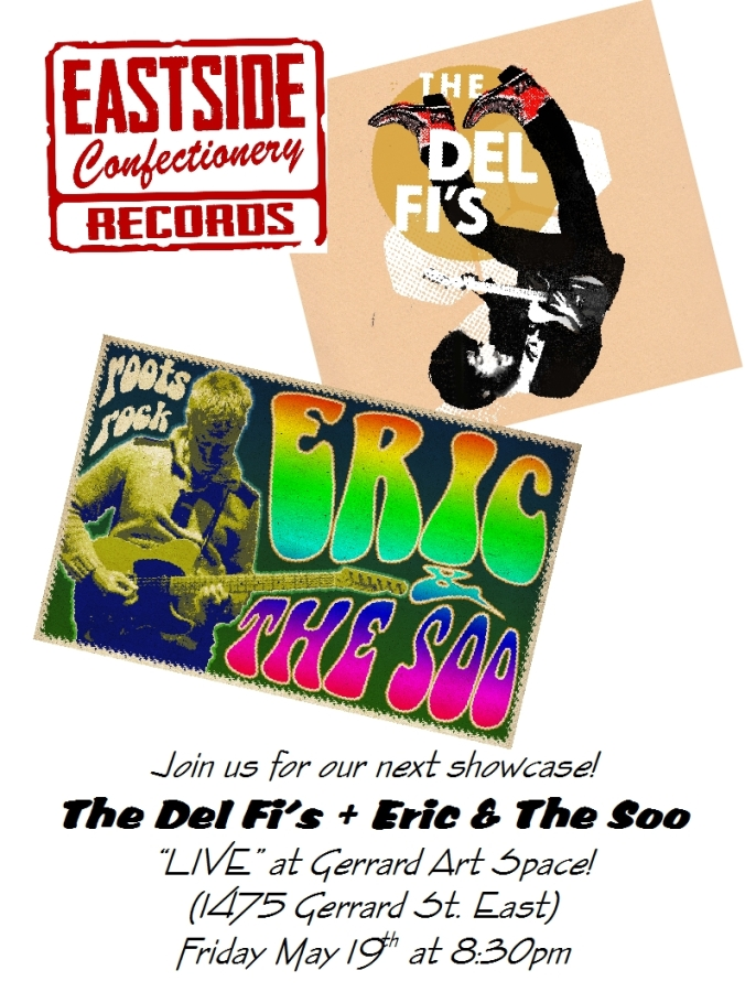 Poster - Eric & The Soo + Del Fi's